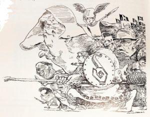 Nordmann Dahl-tegning
