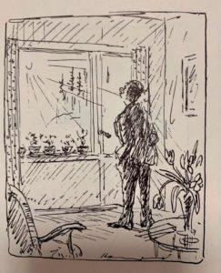 Gösta Hammerlund-tegning