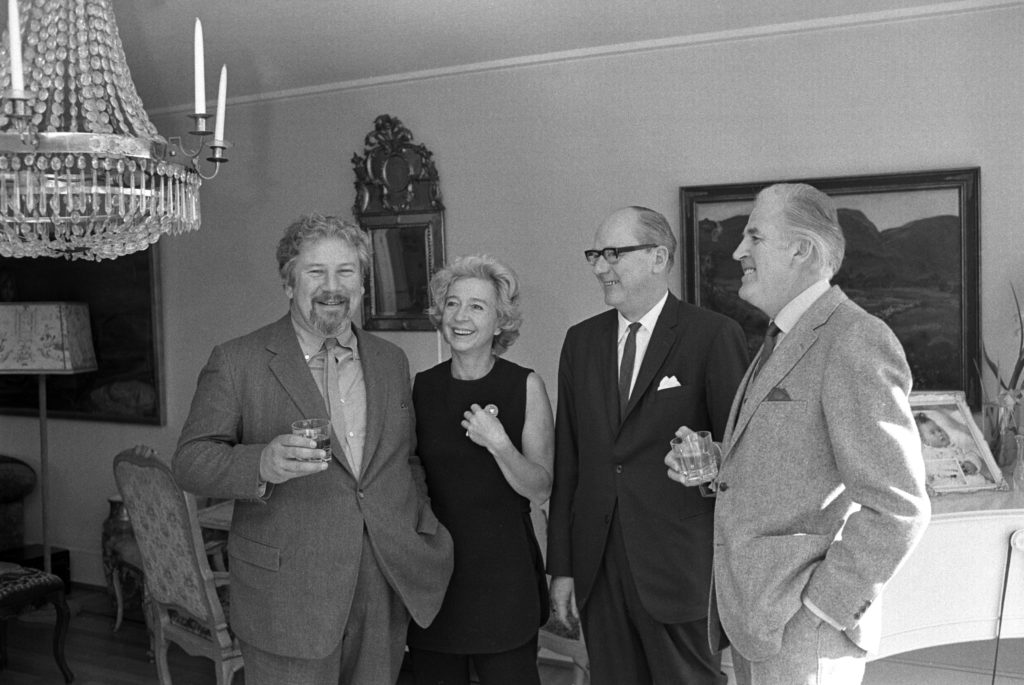 Peter Ustinov Wenche Foss Wilhelm Bøe Arne Hestenes